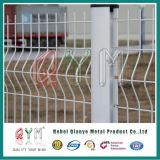 PVC загородки 3D покрыл гальванизированную сваренную загородку ячеистой сети