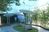 Mode d'équipement de conditionnement physique extérieur avec parapluie taille formateur