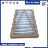 Filtre en panne en fibre synthétique plissée pour le nettoyage de l'air