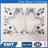 Plata personalizada extruido anodizado de perfiles de aluminio con ranura en T