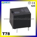 PCB Relay Китай Relay Manufacturer 12VDC Car Relay T78
