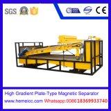 Separatorb elettromagnetico a pulizia automatica asciutto per i materiali da costruzione della miniera del quarzo dello zucchero