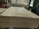 HDF geformte Furnier-Blatttür-Haut-Größe für 2150X720X3mm