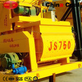 Js750 de Mobiele Concrete Mixer van de Dieselmotor met Pomp