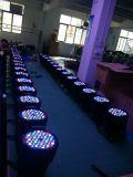 高い発電RGBW 3wx54PCSは非同価ランプを防水する