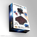 Custom Strong Boîte de carton ondulé emballages en papier avec fenêtre claire pour Toy, électronique