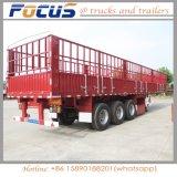 家畜の輸送のための最もよい価格3の車軸倉庫棒半トレーラー