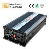 inversor modificado 220V de la onda de seno de 1500W 12V con la garantía de la protección completa y de 1 año, buen inversor de la potencia del precio en Guanghzhou (THA1500)