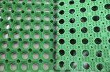 子供の運動場のための滑り止めの安全12mmゴム製草のマット