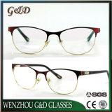 Nuevo estilo de metal popular producto óptica anteojos anteojos de marco
