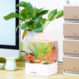 Для настольных ПК USB акриловый рыб бак мини Аквариум