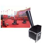 Apparatuur van het Stadium van de Machine van de Confettien van Co2 van de Verpakking van het Geval van de vlucht de Grote