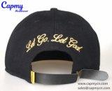 金属ロゴの製造者が付いているカスタム急な回復の帽子の帽子
