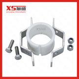 Bride de fixation Hex de taille de pipe de l'acier inoxydable 304 avec les viroles en caoutchouc