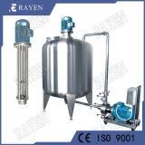 En acier inoxydable de qualité alimentaire Electric homogénéisateur haute réservoir pompe de cisaillement