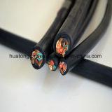 Силовой кабель s куртки UL62 4c 16AWG резиновый, так, Soo, хавронья, кабель Soow