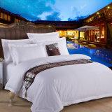 Insiemi bianchi 100% dell'assestamento dell'hotel di prezzi poco costosi del commercio all'ingrosso di promozione del cotone