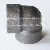 Encaixes de tubulação do ferro maleável do cotovelo do soquete do aço de liga do aço de carbono