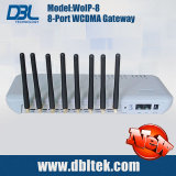 DBL GoIP WoIP 8 de Gateway WCDMA van de Haven