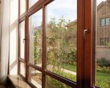 유럽 디자인 여닫이 창 알루미늄 목제 Windows