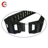 Catena Semi-Closed di plastica di resistenza del cavo di ingegneria flessibile nera