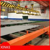 発破を掛け、塗り、そして乾燥を含む鋼板前処理ライン