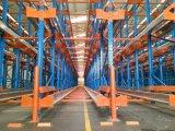 Rack de palete de transporte rádio para Armazém Automático