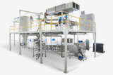 Automatischer integrierter Puder-Beschichtung-Produktionszweig