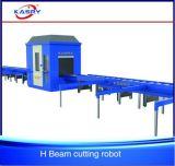 Máquina de la robusteza del corte de llama del plasma del CNC de la viga de rectángulo de la depresión de la viga del h que hace frente I/L/U/T
