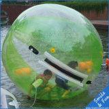 Opblaasbare het Lopen van het Water Bal met Materiaal TPU 0.8mm