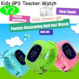 Los niños Tracker GPS RELOJ CON GPS+Lbs posición Dual (Y2)