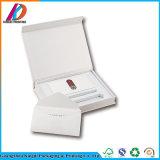 Коробка оптового изготовленный на заказ подарка квартиры открытого бумажного упаковывая