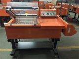 Semi automática de sellado Shrinking Máquina para POF película de PVC