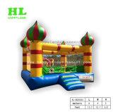 Kleiner leuchtender Palast-aufblasbarer springender Prahler für Kinder