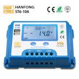 Hohe Leistungsfähigkeits-Sonnenenergie-Controller mit LCD-Bildschirm (ST6-10)
