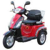 500W48V 3 바퀴 전기 스쿠터, 노인 (TC-018)를 위한 호화로운 안장을%s 가진 전기 세발자전거