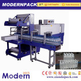 Автоматической Heated машинное оборудование упаковки напитка PE разлитое по бутылкам пленкой