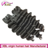Jungfrau-Haar-Hersteller-Qualitäts-brasilianisches Menschenhaar-Stück