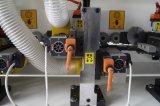 Automatische hölzerne Banderoliermaschine des Rand-Mf-506 mit dem Polieren, reibend, feines Triming, raues Triming, Ende Triming und kleben und bohren, EckTriming, Pre-Miling