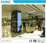 중국 P3.91 실내 풀 컬러 정면 정비 발광 다이오드 표시 스크린 영상 광고 LED 텔레비젼 전시