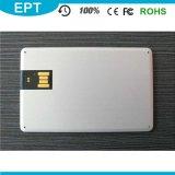 Promoção a granel chinês o logotipo OEM ultra fina Unidade Flash USB de cartão de crédito