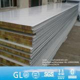 山東75mm PU/EPS/Rockwool/Glasswoolサンドイッチ屋根の壁パネル