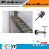 Acier inoxydable à finition satin intérieure de la main courante pour la maison de l'escalier