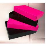 Фантазии розового цвета ткани картонные коробки рассылки бумаги