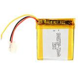 De kleine Navulbare Batterij van het Polymeer van Li, 3.7V 720mAh 487739