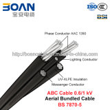 Cable del ABC, cable liado aéreo, 0.6/1 kilovoltios (BS 7870-5)
