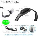 GPS étanche IP66 Les animaux de compagnie Tracker pour chien avec Geo-Fence (EV-200)