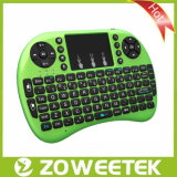 Smart 텔레비젼 (를 위한 Zoweetek-Rii Mini 2.4GHz Mini Wireless Touchpad Keyboard ZW-51009 (MWK09))