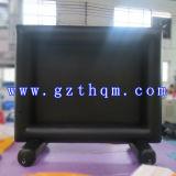 Schermi di film gonfiabili giganti per lo schermo di film gonfiabile proiezione/di pubblicità