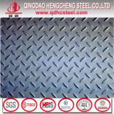 열간압연 Steel Carbon Diamond Checkered Ms 격판덮개